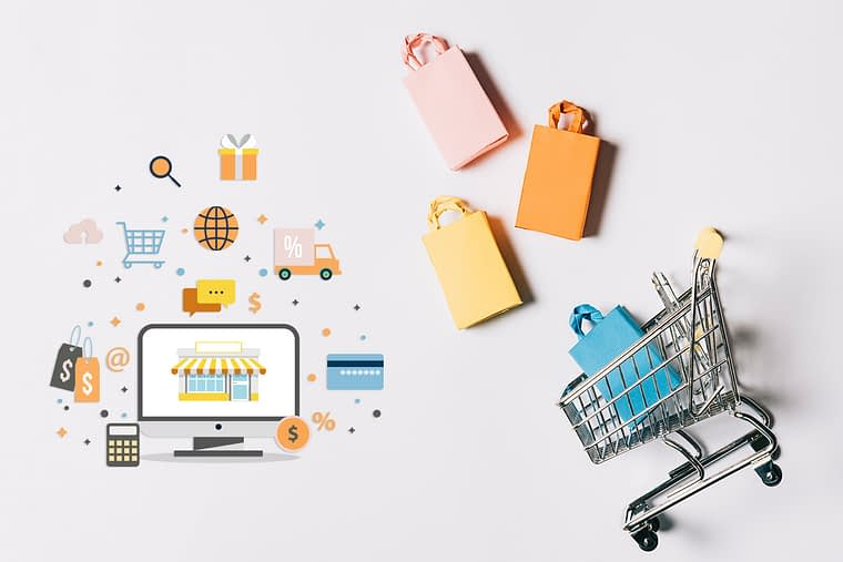 illustration of ecommerce search