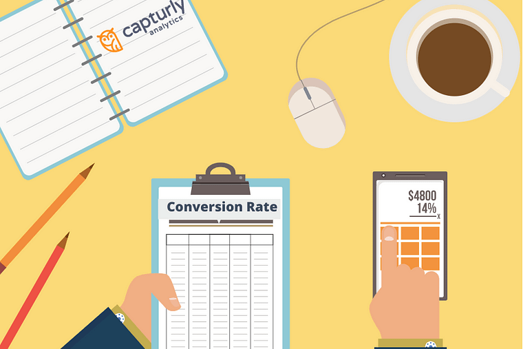 how to calculate conversion rates and ROI