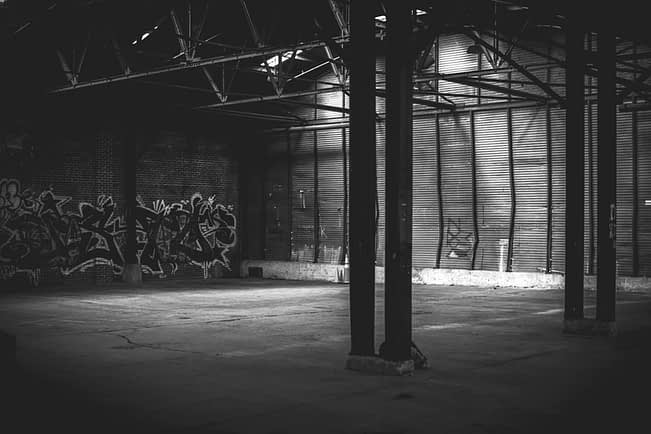 empty warehouse out of stock