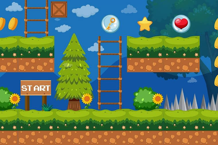 Website gamification