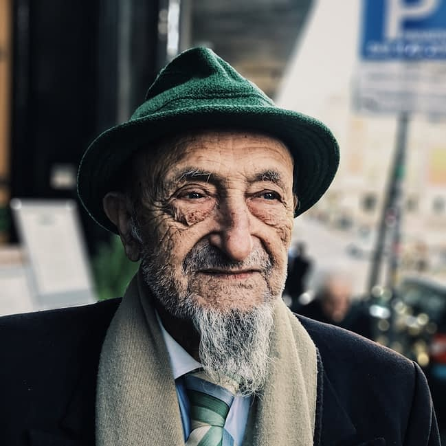 man from an older generation